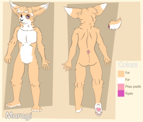 [Comm] Refsheet for Maragi