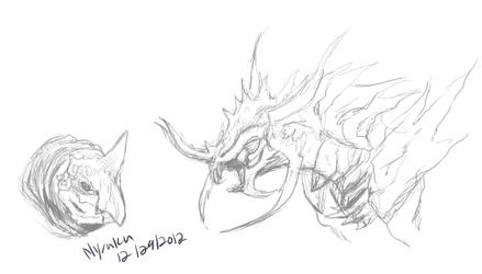 Pchat Monster Doodles
