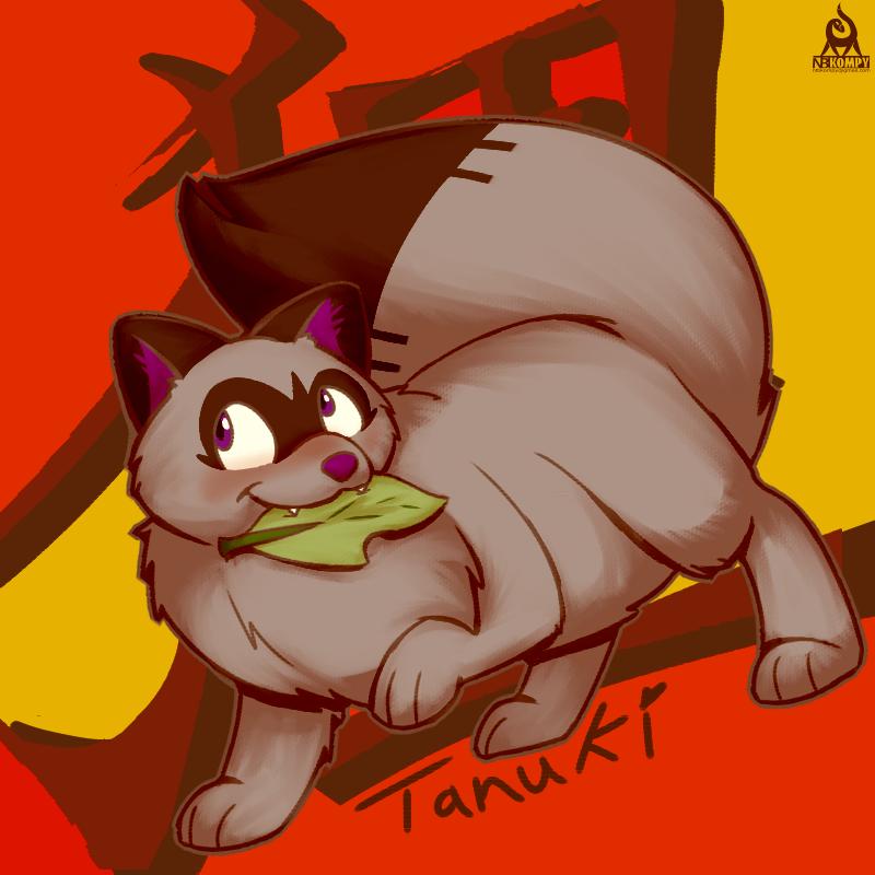 OCtober Day 30 - Tanuki