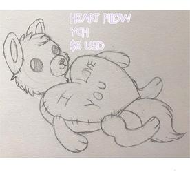 Heart Pillow YCH [Open}