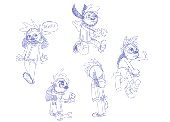 more pose doodles