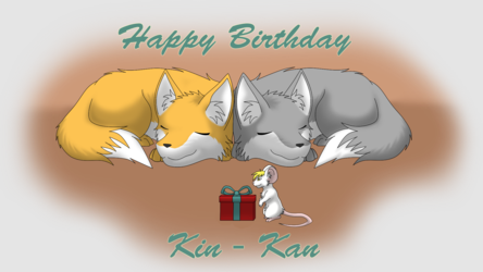 Happy Birthday Kin-kan