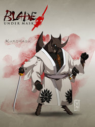 Blade Under Mask: Kurohasu
