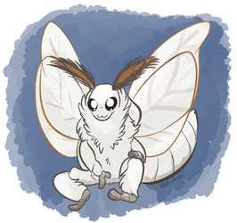 Daily Doodle #78 - Moth