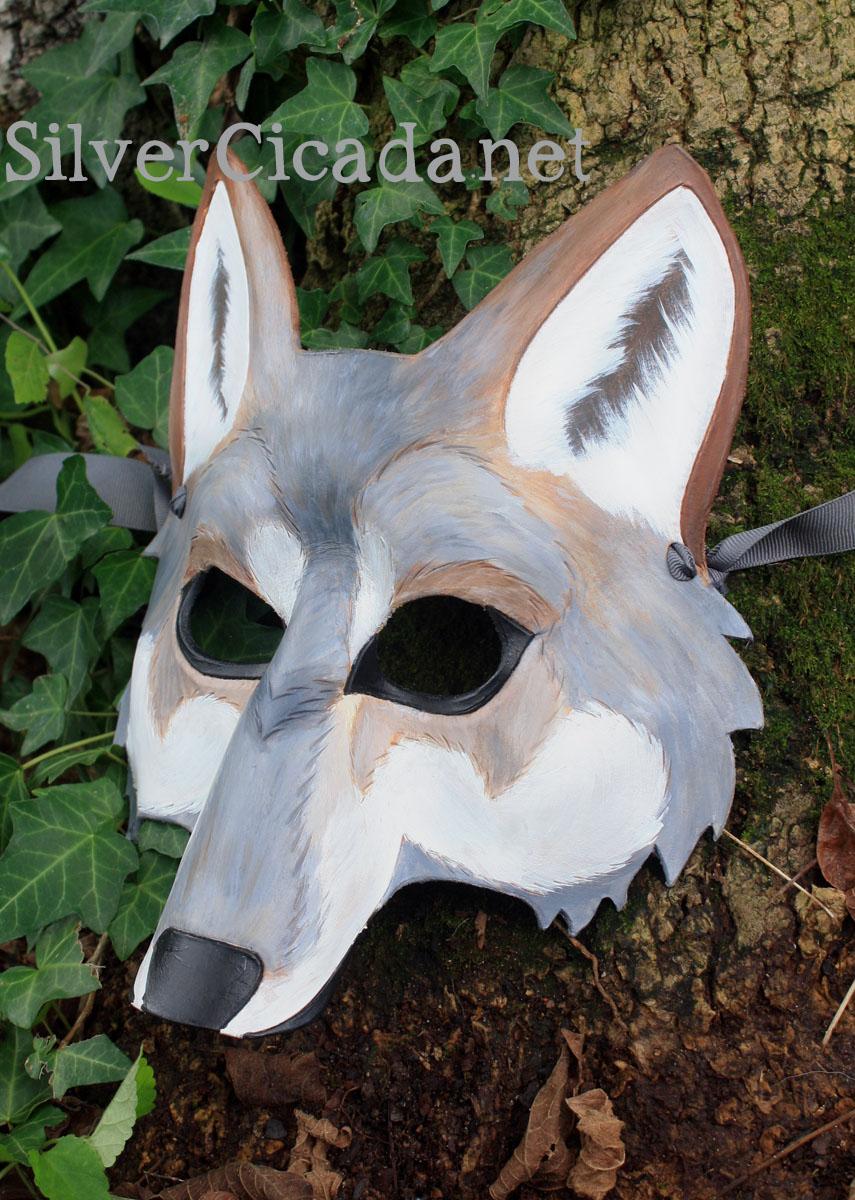 Leather Wolf Mask v2