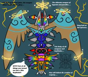 The Ultimate Weapon, Keyblabe, blade! +Sapphirus Parody+