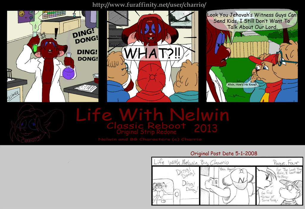 Featured image: Life With Nelwin Reboot 04