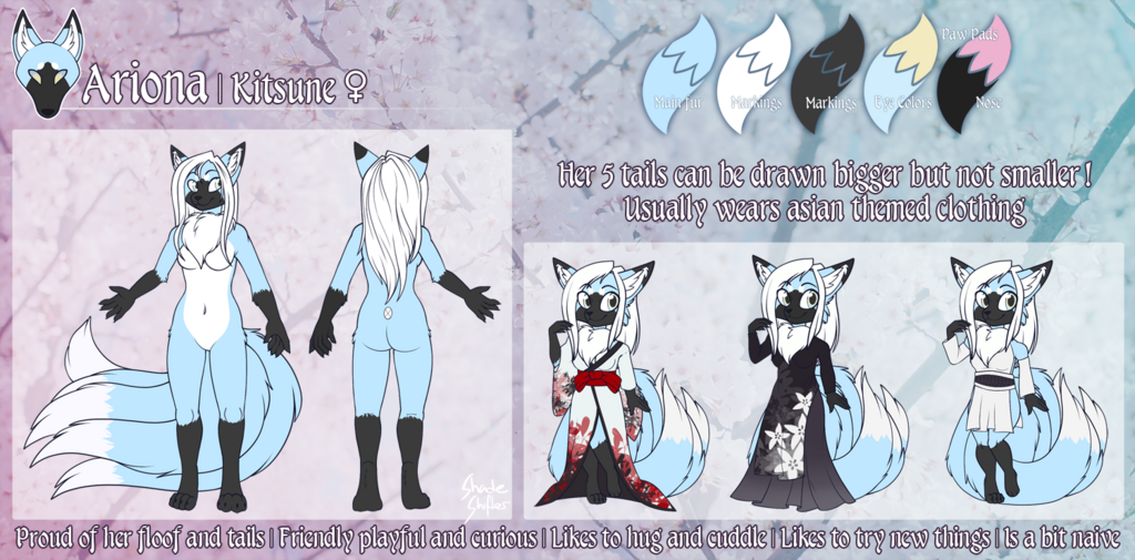 Most recent image: Ariona Ref [Commission]