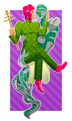 kakyoin/hierophant green