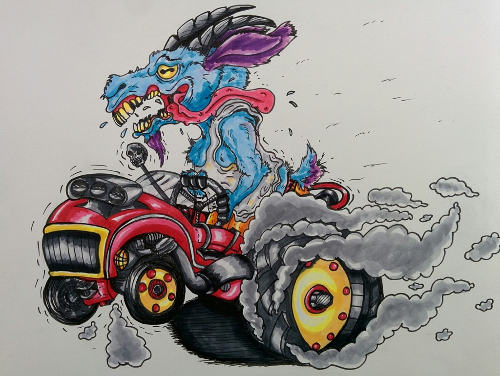 Tractor goat