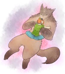 Big Bad Wolfy Cuddles