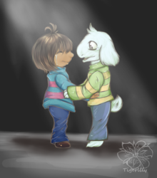 Undertale I don't want you to be...alone.