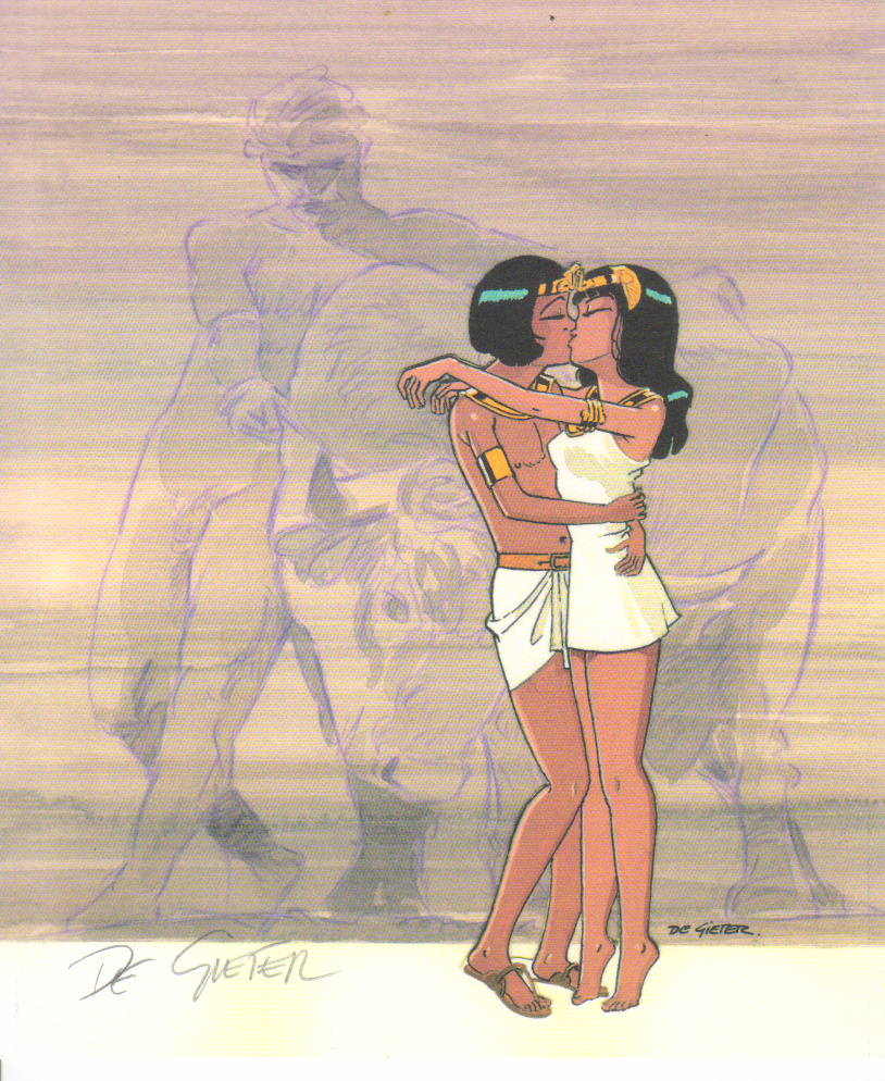 Most recent image: Papyrus and Theti-Cheri kissing