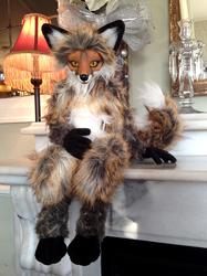 Red Fox OOAK Art Doll 3