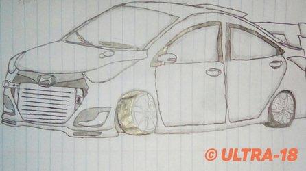 It's a Badass Hyundai elantra
