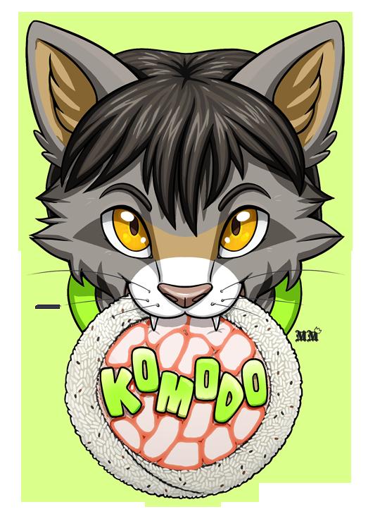 Komodo Chomp Badge
