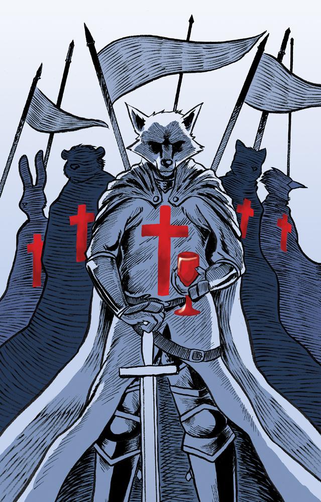 AC Art Show 2014: The Knights Templar