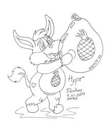 Hypr Donkey Care Bear Lines