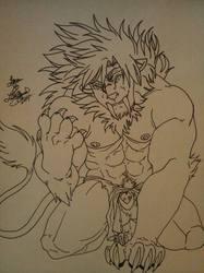 Feral Saber Lion