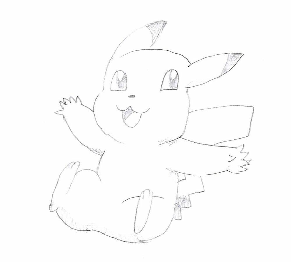 A Pikachu!