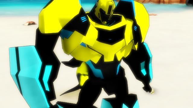 Aquasteel prime the autobot dolphin