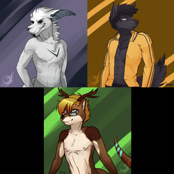 Free Rough Colour Sketches for NZ Furries - 1