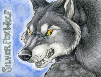 SilverFoxWolf Badge