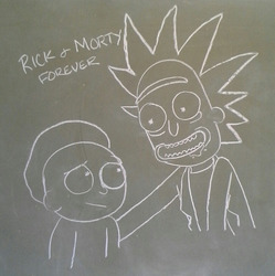100 YEARS RICK AND MORTY