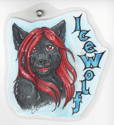 Icewolf Badge