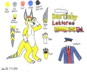 Bartleby Lokieroo 2018 referance sheet