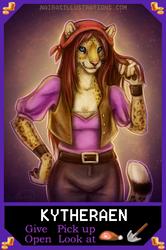 Retro Game Badge - Elaine Marley by Naira