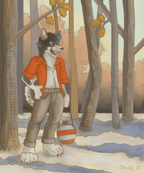 Forest Husky by Skuell Wolf