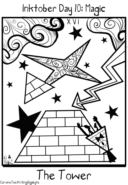 Inktober Day 10: Magic
