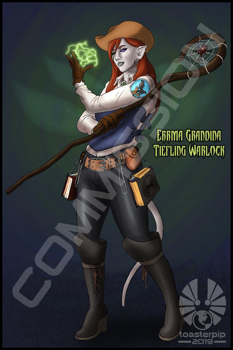 Commission: Errma Grandina