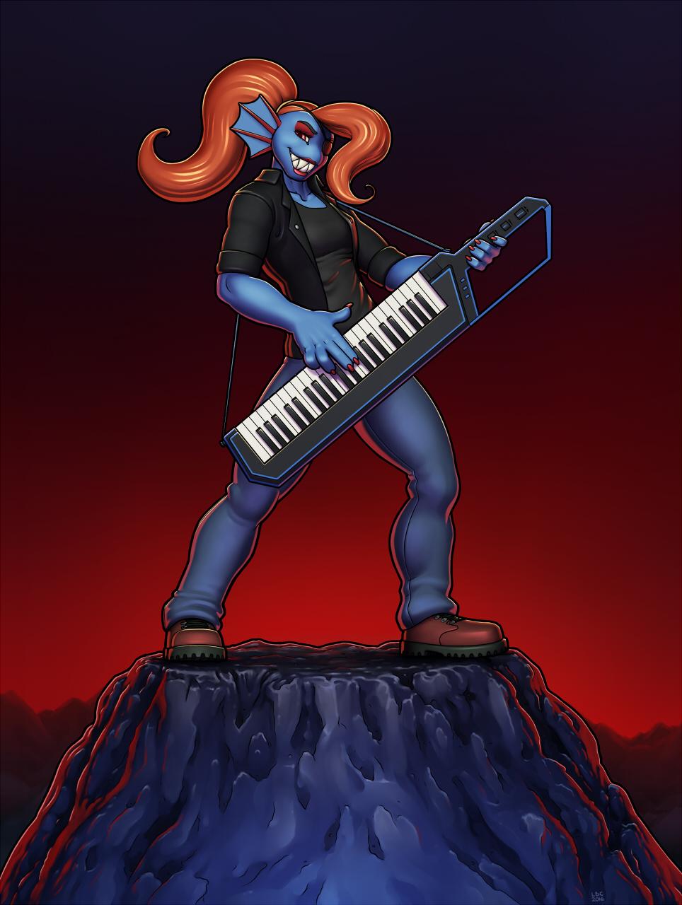 Undyne the Keytarist