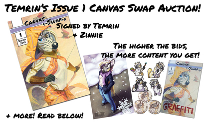 Canvas Swap Issue 1 SALE: Physical Copy Bundle!