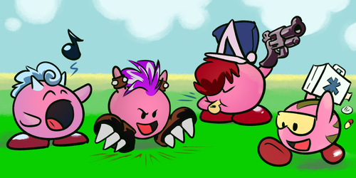 Gang of Kirbies