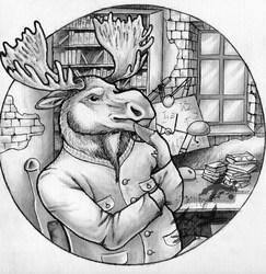 Thinking Moose
