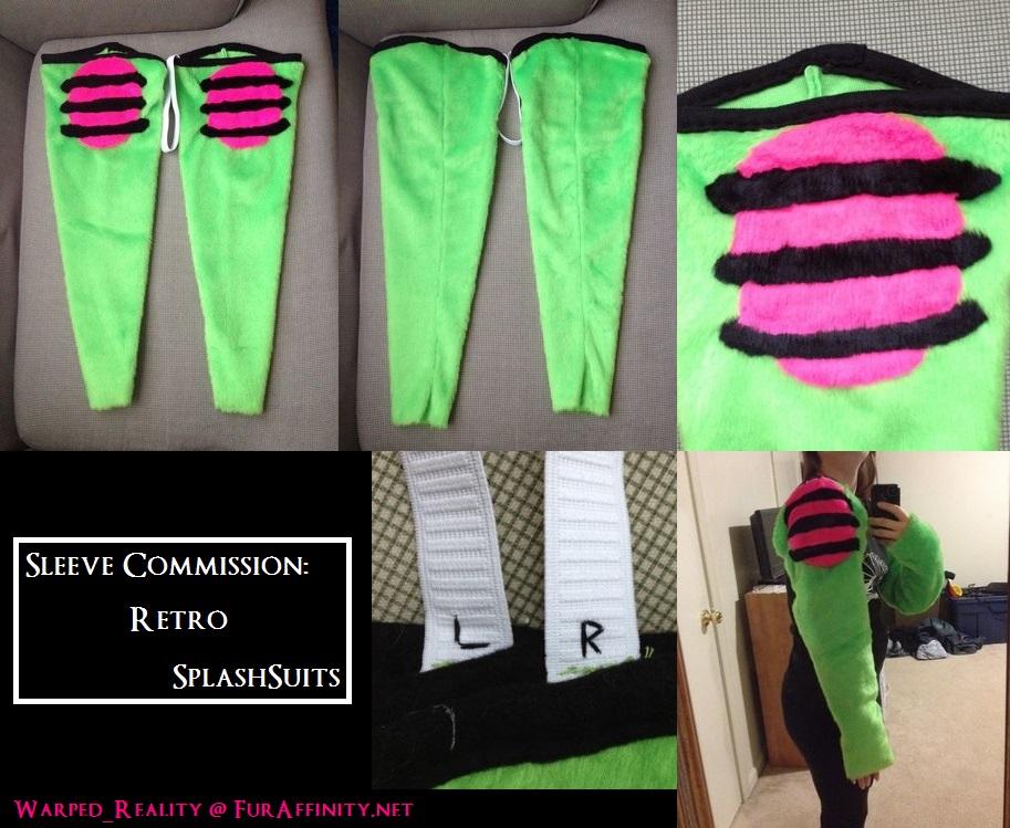Sleeve Commission: SplashSuits
