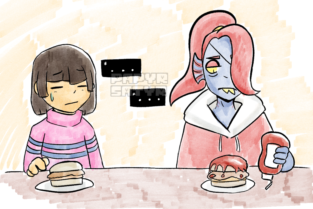 Hangout with Undyne