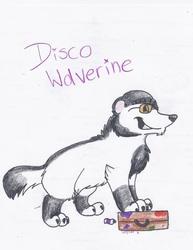 Disco wolverine!!
