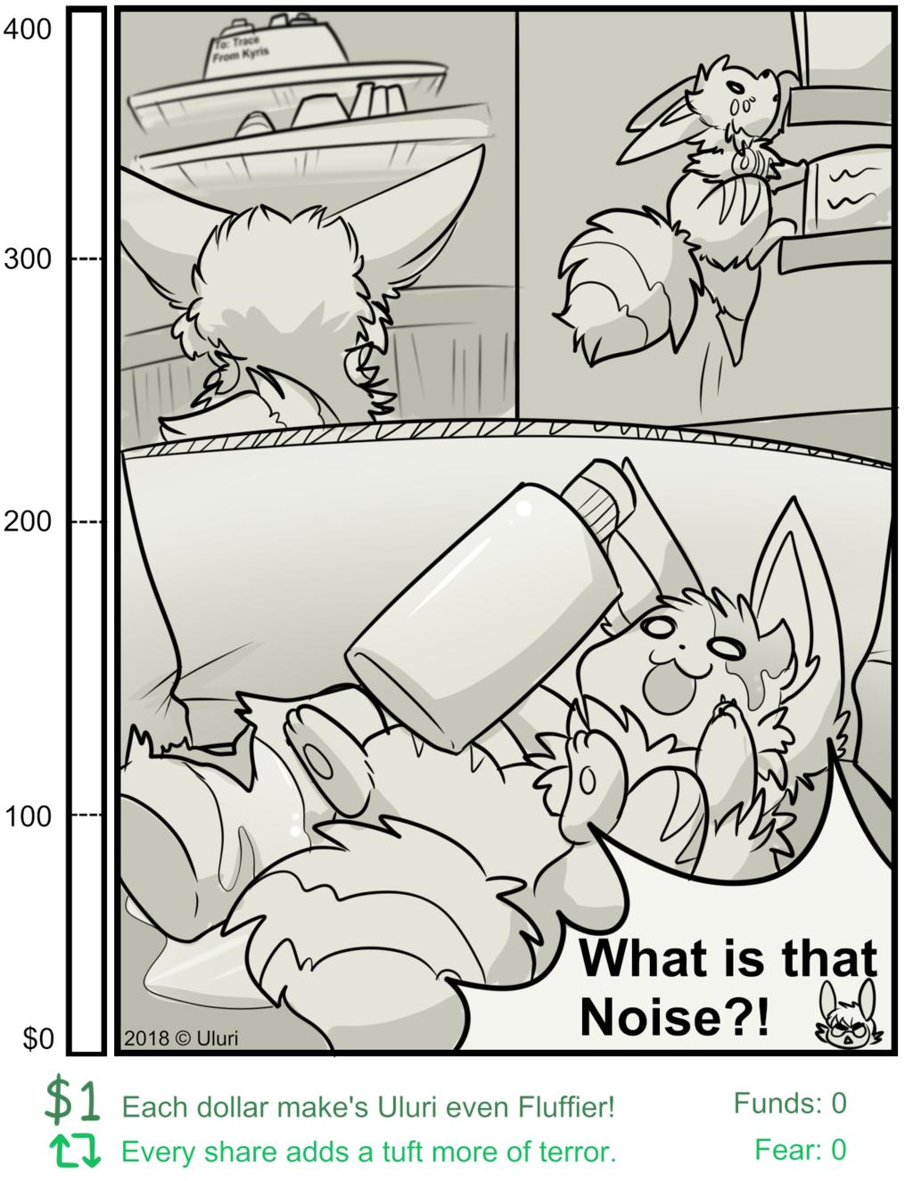 Fluff of Terror P1: Goal Comic