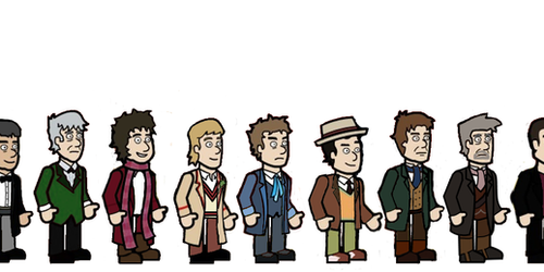 All thirteen Doctors