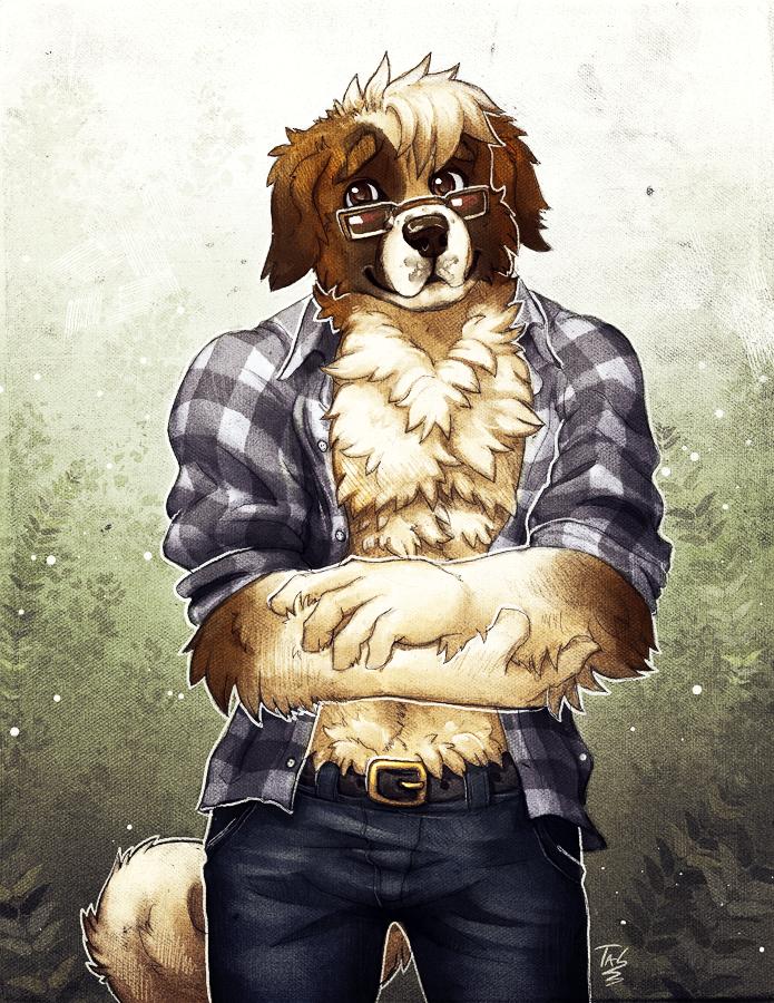 Extra Fluffy Doggo