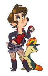 My Pokemon trainer OC, Elle