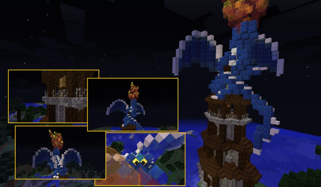 Dragon on a Lighthouse