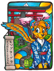 KingKougra Themed Badge (FWA 2015)