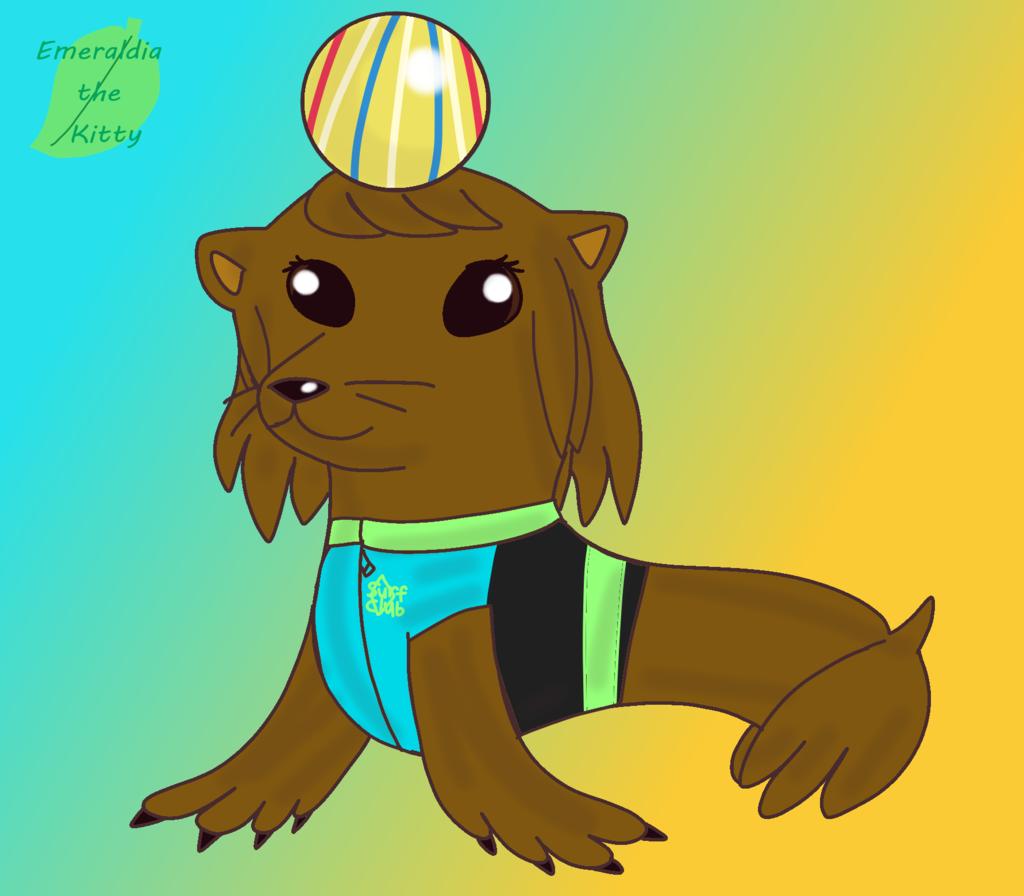 Joss Hedrick as a Sea Lion