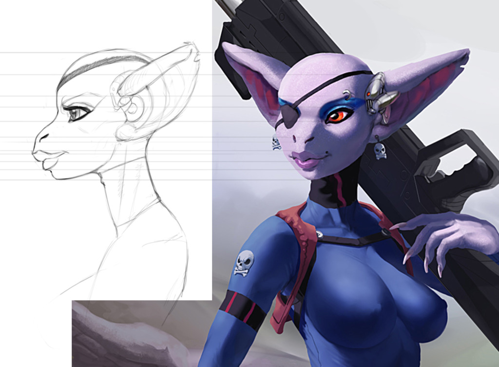 Ves Profile sketch for reference