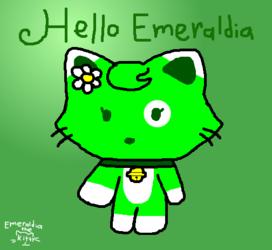 Emeraldia in Hello Kitty Style